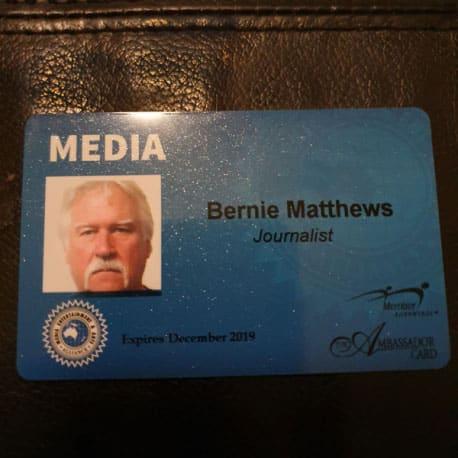 Bernie Matthews